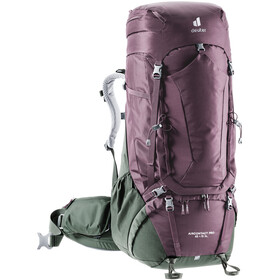 deuter Aircontact PRO 65 + 15 SL Backpack, aubergine/ivy